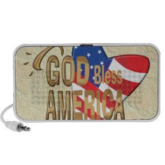 GOD BLESS AMERICA iPhone SPEAKER