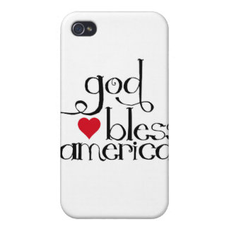 God Bless America Speck Case iPhone 4 Cases
