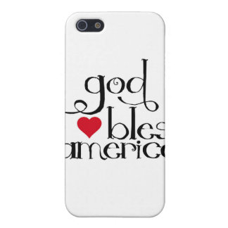 God Bless America Speck Case iPhone 5 Case