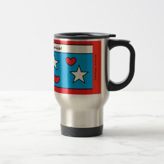 God Bless America! Travel Mug