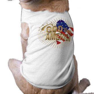 God Bless America Tshirts and Gifts Sleeveless Dog Shirt