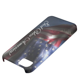 God Bless America -U S Flag Cover For iPhone 5C