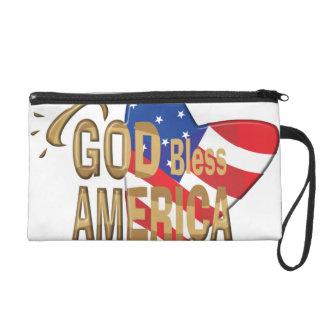 GOD BLESS AMERICA WRISTLET
