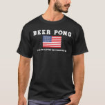 God Bless Beer Pong Shirt