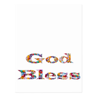 GOD Bless - Ideal GIFT for all occasions Postcards