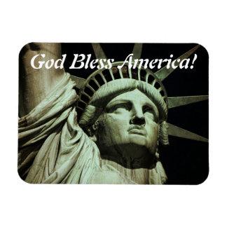 God Bless Liberty Flexible Magnet