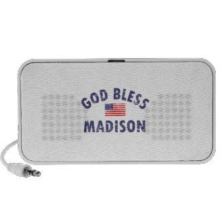 God bless MADISON iPhone Speaker