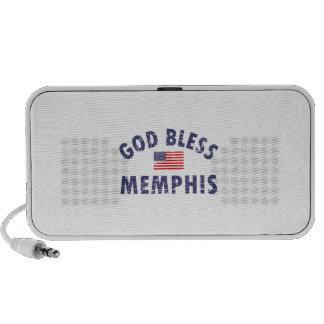 God bless MEMPHIS Mp3 Speakers