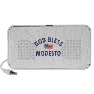 God bless MODESTO Notebook Speaker