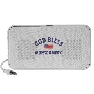 God bless MONTGOMERY PC Speakers