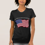 GOD BLESS MY MILITARY DAUGHTER with US flag T Shirts