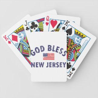 God bless New Jersey Poker Deck