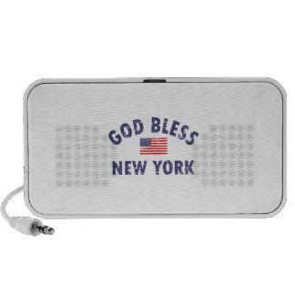 God bless NEW YORK Speaker