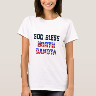 God Bless North Dakota T-Shirt