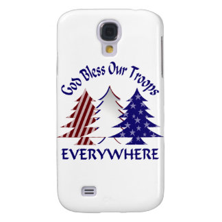 God Bless Our Troops Samsung Galaxy S4 Case