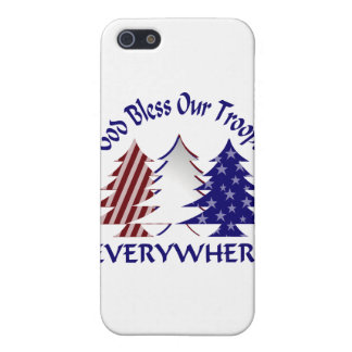 God Bless Our Troops Case For iPhone 5
