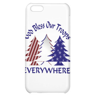 God Bless Our Troops Cover For iPhone 5C