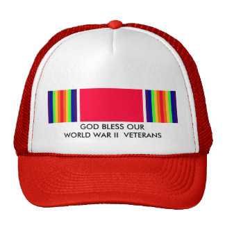 GOD BLESS OUR WORLD WAR II VETERANS CAP