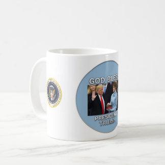 God Bless President Trump Mug