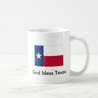 God Bless Texas Coffee Mug