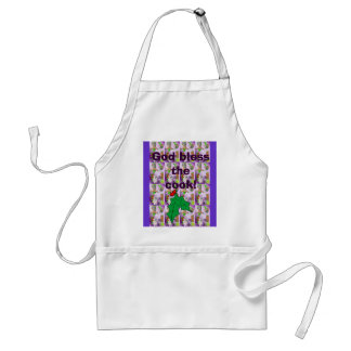 God bless the cook standard apron
