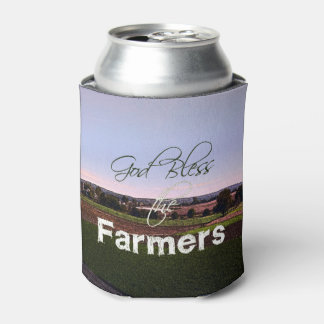 God Bless the Farmers Can Cooler