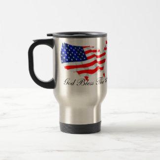 God Bless The U.S.A. Coffee Mugs