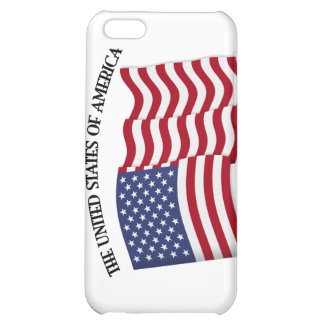 GOD BLESS THE UNITED STATES OF AMERICA US flag iPhone 5C Case