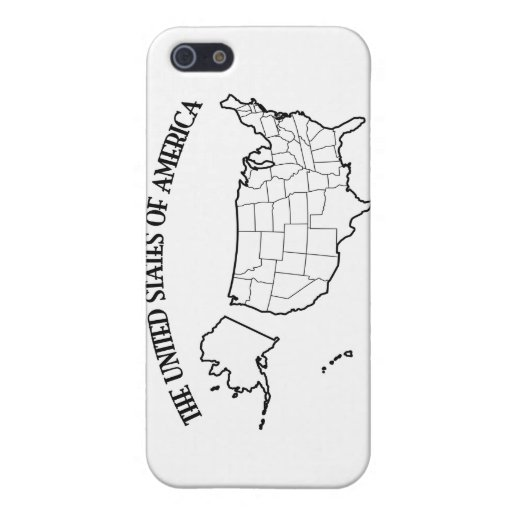 GOD BLESS THE UNITED STATES OF AMERICA US outline Cover For iPhone 5