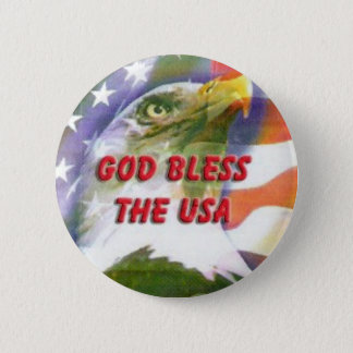 God Bless the USA Button