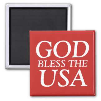 God Bless the USA Magnet