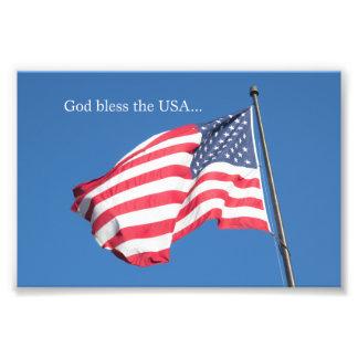 God Bless the USA… Photo Art