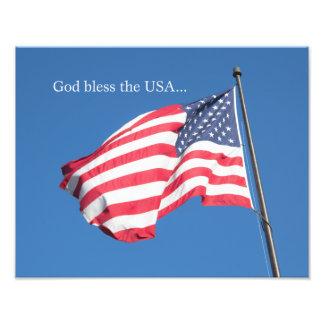 God Bless the USA… Photo Print