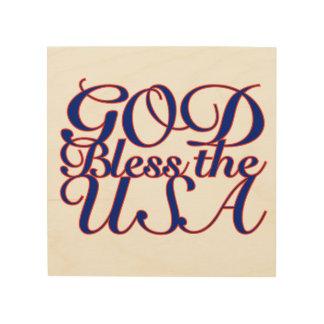 GOD BLESS THE USA WALL ART