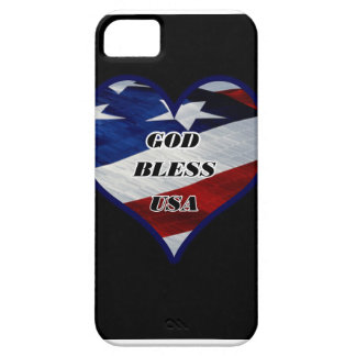 God Bless USA Barely There iPhone 5 Case