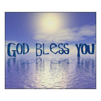 God Bless You. Poster