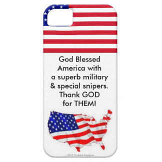 God Blessed America....phone case iPhone 5 Case