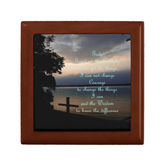 God Boxes 12 step recovery 3rd step God Box Small Square Gift Box