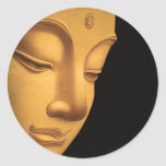 God Buddha Classic Round Sticker