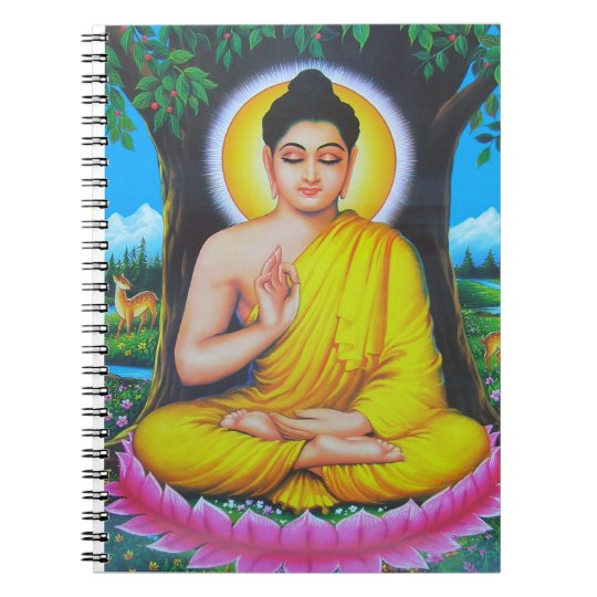 God Buddha Spiral Notebook