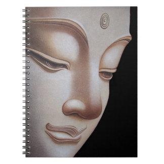 God Buddha Spiral Notebook