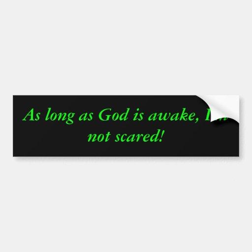 GOD BUMPER STICKERS