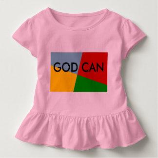 God Can Ruffle baby shirt