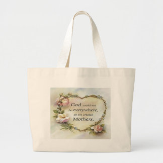 God Could Not Be Everywhere.... Tote Bags