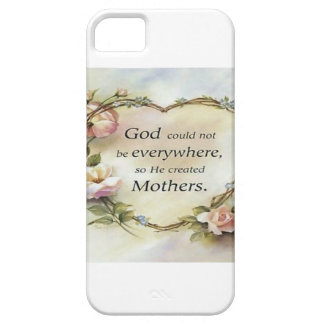 God Could Not Be Everywhere.... iPhone 5 Cover