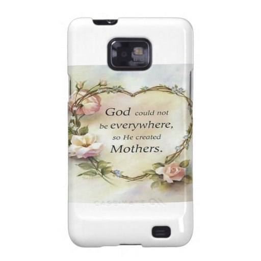 God Could Not Be Everywhere.... Galaxy S2 Cover