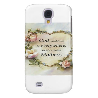 God Could Not Be Everywhere.... Samsung Galaxy S4 Cover
