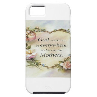 God Could Not Be Everywhere.... iPhone 5 Case