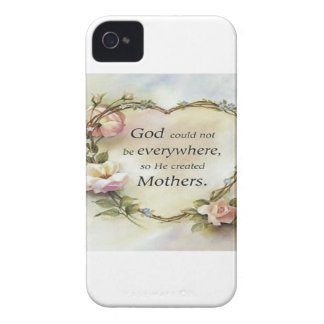 God Could Not Be Everywhere.... iPhone 4 Case