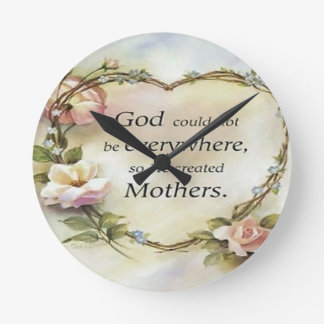 God Could Not Be Everywhere.... Wall Clocks
